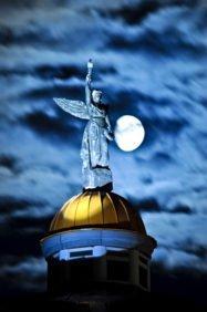 ангел Новосибирского крематория