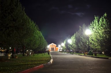 ночные виды крематория
