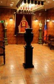 Траурные залы Новосибирского крематория
