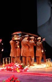 Особые похороны VIP