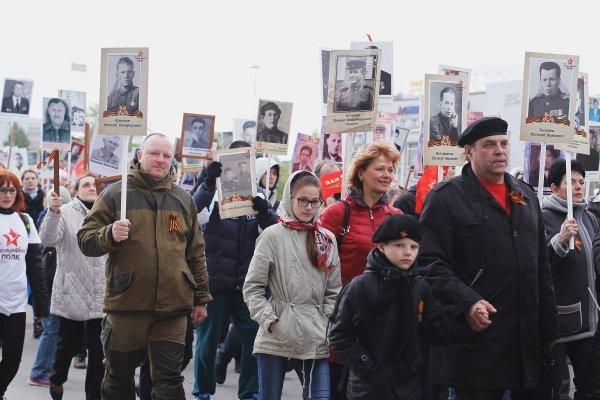 «Бессмертный полк-2017» минует в Новосибирске Центральный парк